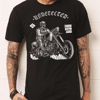Chopper Design Mens Tshirt
